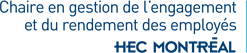 Chaire de recherche du Canada en gestion de l'engagementet du rendement des employés Logo